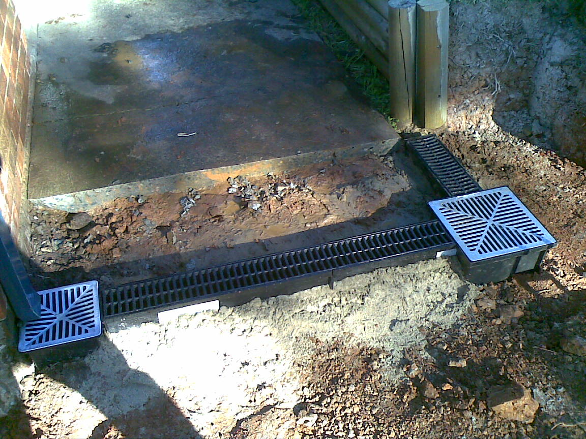 Water drainage driveways images for Residential stormwater drainage solutions